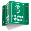 Eye Wash Station Projecting Sign
