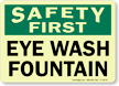 Safety First: Eye Wash Fountain