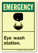 Emergency Glow Sign