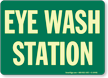 Eyewash Station Sign