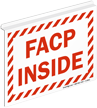 FACP Inside Projecting Sign