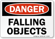 Falling Objects Danger Sign