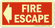 Fire Escape (Arrow Left)