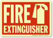 Fire Extinguisher (with graphic) (Glow)