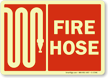 Fire Hose Sign (with graphic)