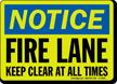 Glowing OSHA Notice Sign