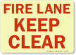 Fire Lane Keep Clear