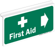 First Aid Z-Sign For Ceiling