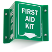 2-Sided First Aid Projecting Sign