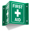 Projecting First Aid V-Sign