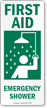 First Aid Emergency Shower (vertical)