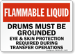 Chemical Storage Area Sign