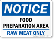 OSHA Notice Food Safety Sign