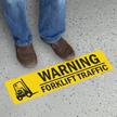 Warning Forklift Traffic