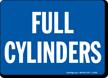 Full Cylinder Sign