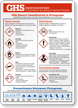 GHS Chemical Hazard Classification Explanation Poster