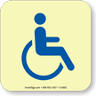 GlowSmart™ Handicap Accessible Marker Sign