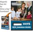 Happy Hanukkah, Safety Family Value Scoreboard Magnetic Face