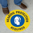 17in. Diameter SlipSafe™ Circular Floor Sign onmouseover =
