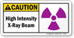 ANSI Radiation Caution Sign