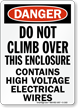 Danger (OSHA) Sign