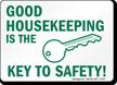 Housekeeping Sign