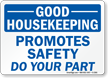 Housekeeping Sign
