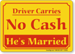 Humorous Bumper Sign