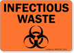 Infectious Waste Sign