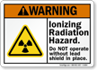 Ionizing Radiation Hazard ANSI Warning Sign