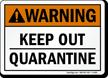 Warning (ANSI) Sign