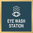 Eye Wash Station, with Graphic