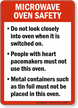 Food and Kitchen Safety Sign