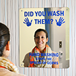 Hand Washing Stops The Spread of Germs Sign