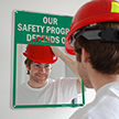 Our Safety Program Depends On: Sign