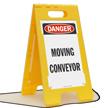 FloorBoss XL™ OSHA Danger Free-Standing Floor Sign