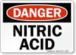 Danger: Nitric Acid