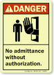 Danger (ANSI) Sign