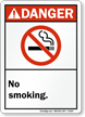 Danger: No Smoking (ANSI style)