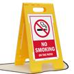FloorBoss XL™ Free-Standing Sign - High-Impact Plastic 23.5