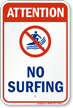 Attention : No Surfing (with graphic)