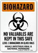 OSHA Biohazard Warning Sign