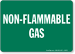 Non - Flammable Gas