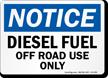 Diesel Fuel Sign