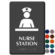 Nurse Station Braille Sign