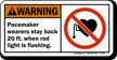 ANSI Warning Sign