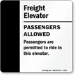 Passengers are Permitted to Ride