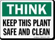 OSHA Think Sign