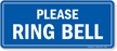 Please Ring Bell Shipping & Receiving Sign