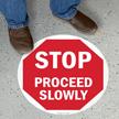 SlipSafe™ STOP Floor Sign